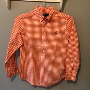 Boys Ralph Lauren dress shirt - Size M 10-12